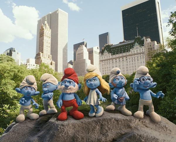 蓝精灵六人组