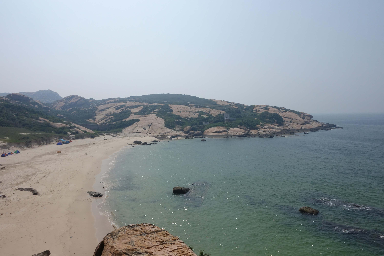 庙湾岛沙滩第一印象